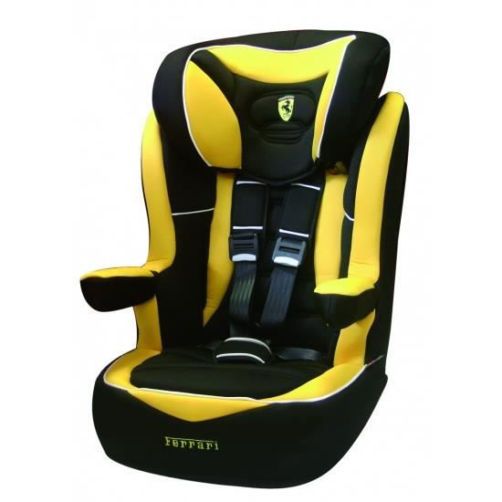 siege auto rehausseur i max ferrari yellow gr1 2 3 achat vente si ge auto r hausseur siege. Black Bedroom Furniture Sets. Home Design Ideas