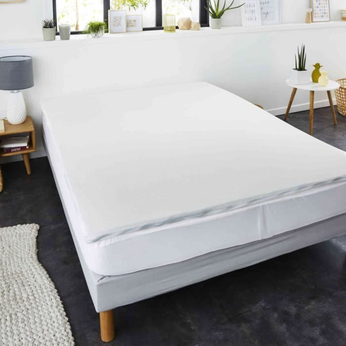 surmatelas a memoire de forme 140 x 200 cm achat vente sur matelas cdiscount. Black Bedroom Furniture Sets. Home Design Ideas