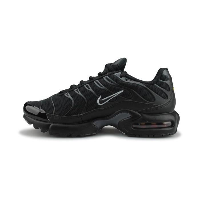 Basket Nike Air Max Plus Junior - 655020-053 Noir Noir - Achat ... 1e61a30c4e28