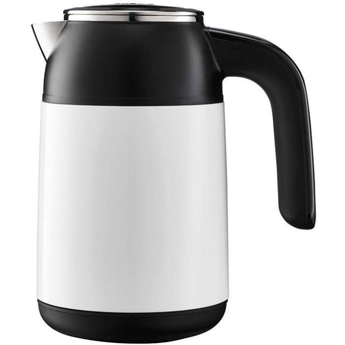 BOUILLOIRE ÉLECTRIQUE Bouilloire compact 1850w 0,5 t°var inox noir