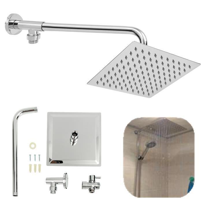 3 couleurs Gradient sensible /à la temp/érature LED Lumi/ère Cuisine Robinet Salle de bains Eau Pommeau de douche Enfants se laver les mains plus