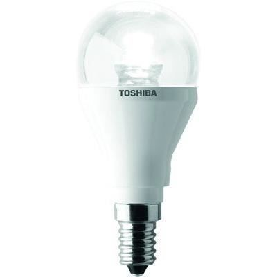 toshiba ampoule led globe claire e14 25w achat vente ampoule led polycarbonate cdiscount. Black Bedroom Furniture Sets. Home Design Ideas