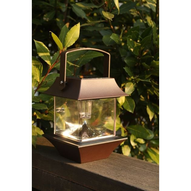 Lanterne solaire pagode achat vente lampion lanterne for Lanterne solaire exterieur
