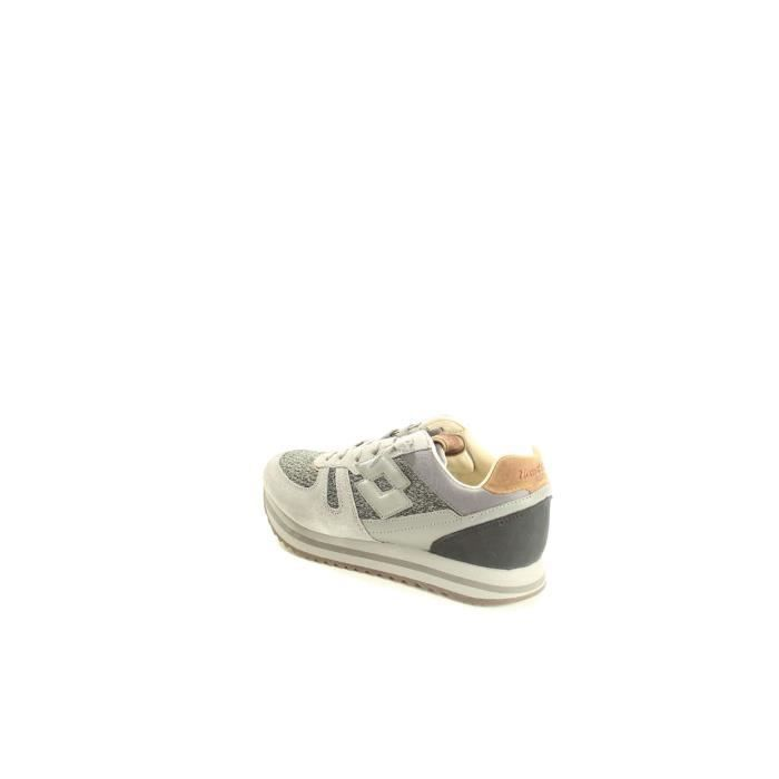Lotto Baskets Homme Gris, 45