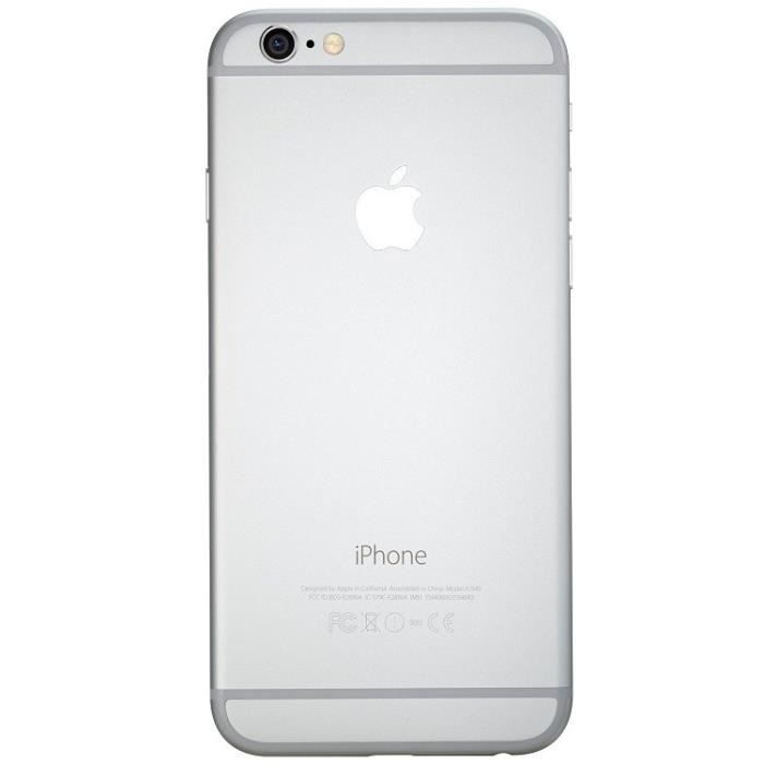 apple apple iphone 6 64gb reconditionn a neuf argent smartphonespaschers. Black Bedroom Furniture Sets. Home Design Ideas