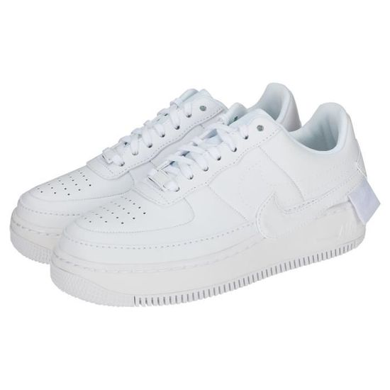 brand new 18904 2a7fa Nike Air Force 1 Jester Xx Femme Baskets Blanc Blanc Blanc - Achat   Vente  basket - Cdiscount
