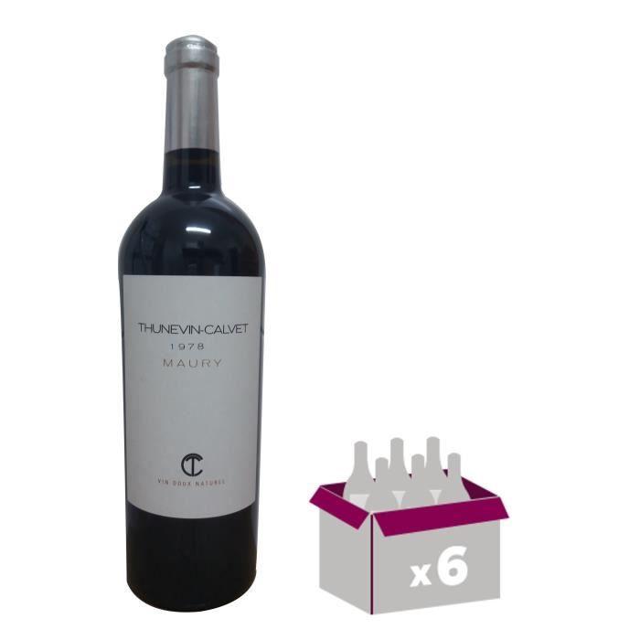 Thunevin Calvet 1978 Maury Banyuls - Vin rouge du Languedoc Roussillon
