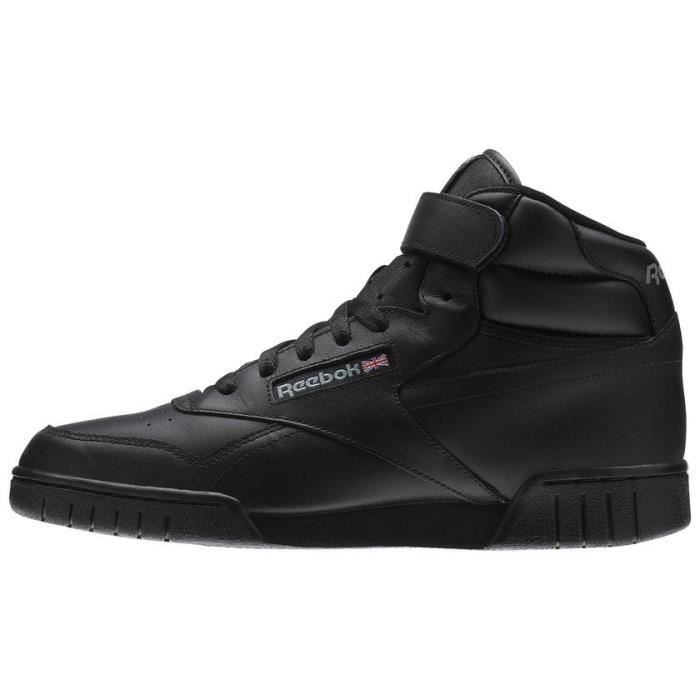 REEBOK Baskets Multisport Ex-O-Fit Hi - Homme - Noir