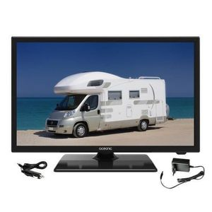 Téléviseur LED OCEANIC TV LED Camping Car Full HD 55cm (21,5'') 1