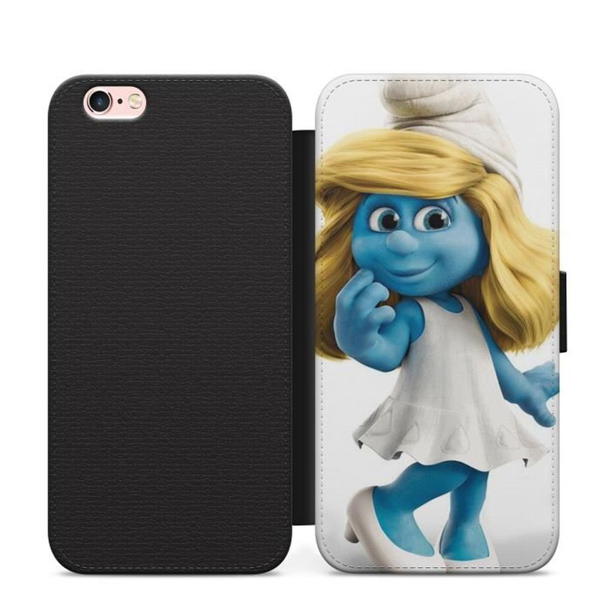 coque iphone 5 schtroumpf