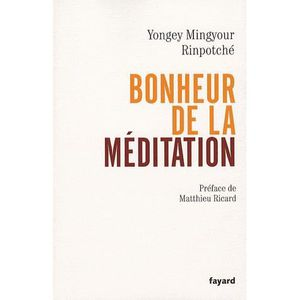 LIVRE RELIGION Bonheur de la méditation