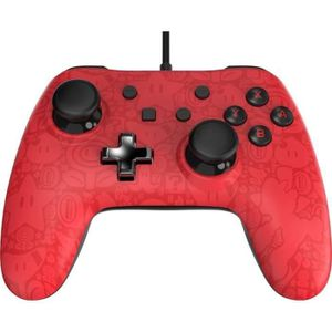 Manette filaire Core Plus Mario - Rouge