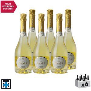 CHAMPAGNE Champagne Blanc de Blanc 2013 - Lot de 6x75cl - Ma