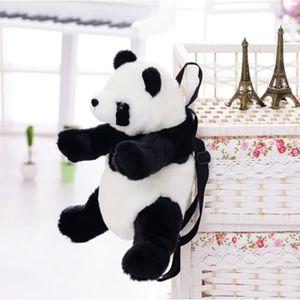 SAC À DOS Sac à Dos Cartable Peluche Panda Enfants Schoolbag