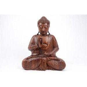 statuette bouddha assis achat vente statuette bouddha. Black Bedroom Furniture Sets. Home Design Ideas