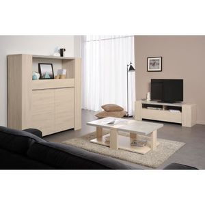 living de salon achat vente living de salon pas cher cdiscount. Black Bedroom Furniture Sets. Home Design Ideas