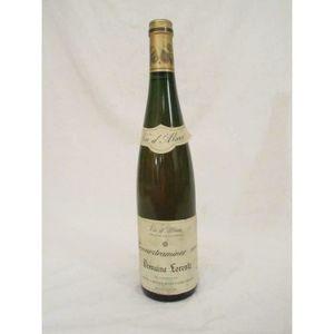 VIN BLANC gewurztraminer domaine lorentz  blanc 1989 - alsac
