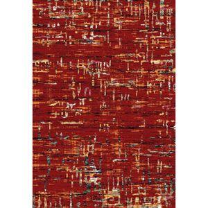 TAPIS Tapis de salon rouge design SEBASTIAN L 125 x P 17