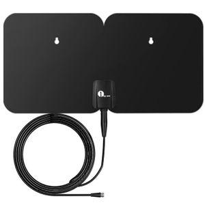 ANTENNE RATEAU 1byone TNT Antenne Extérieure Digitale Amplifiée T