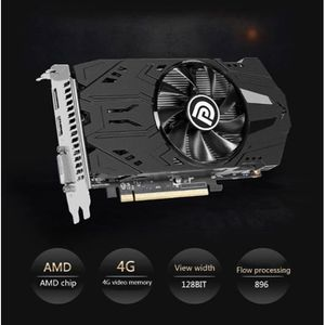 CARTE GRAPHIQUE INTERNE 4 Go RX560 4G DDR5 Desktop Gaming Cards Cartes gra