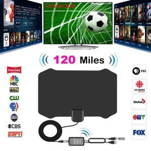ANTENNE RATEAU Antenne numérique HDTV d'intérieur Antenne numériq