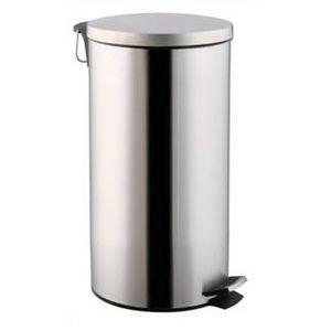 POUBELLE - CORBEILLE poubelle de cuisine comete inox satin 40 litres