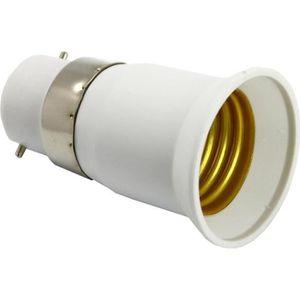 DOUILLE ZENITECH Transformateur/adaptateur de douille mâle