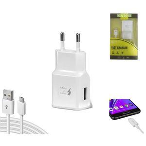 ACCESSOIRES SMARTPHONE KAEESI® -Chargeur Secteur Rapide Compatible  Xiaom