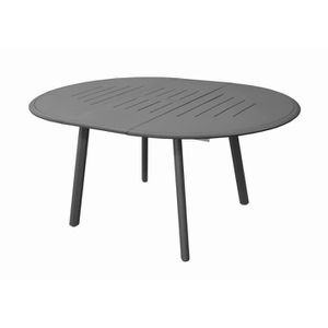 table jardin ronde 120 cm achat vente table jardin ronde 120 cm pas cher cdiscount. Black Bedroom Furniture Sets. Home Design Ideas