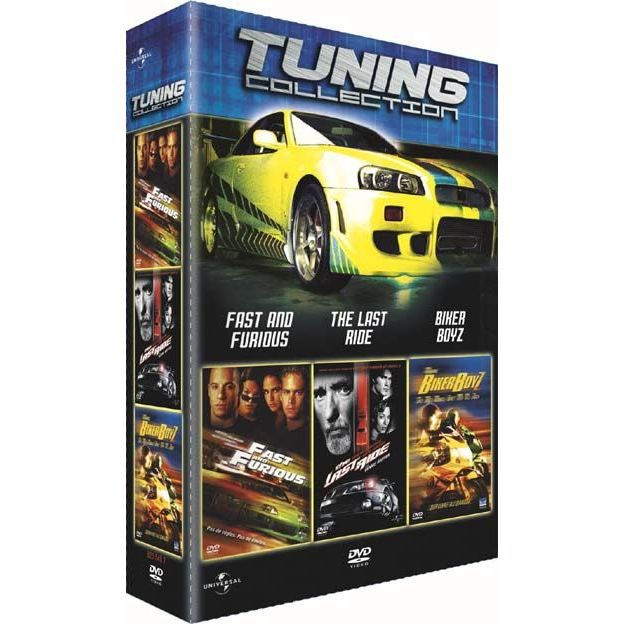 dvd coffret tuning collection fast and furiou en dvd film pas cher soldes d t cdiscount. Black Bedroom Furniture Sets. Home Design Ideas