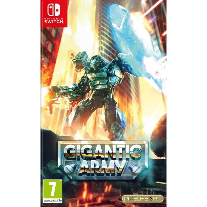 Gigantic Army Jeu Switch