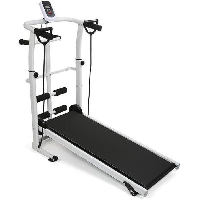 Tapis de course CASNELY tapis de marche 3 en 1 Appareil de Fitness avec écran LCD