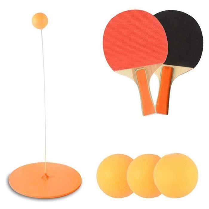 Raquette Ping Pong,ping-pong trainer,No1185,Balle d'entraînement Ping-Pong efficace enfants Tennis Table Ping-Pong raquette jouets