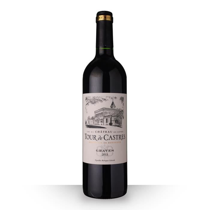 Tour de Castres 2013 Rouge 75cl AOC Graves - Vin Rouge
