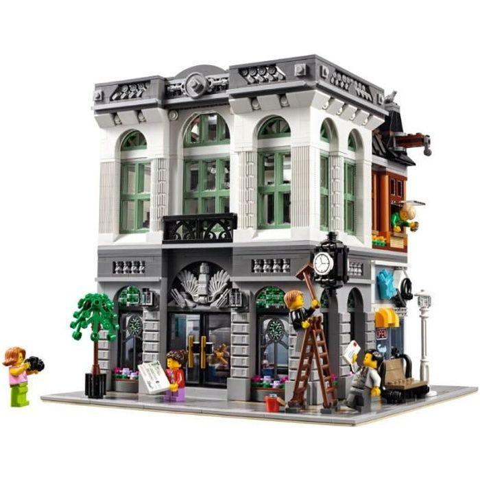 15001 brique Bank Street View 10251 blocs de construction 2413 pièces créateur Expert briques 99013 roi 84001