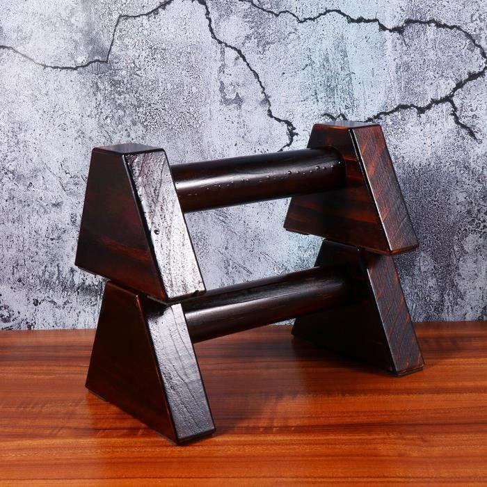 2020 en bois Calisthenics Handstand gymnastique exercice entraînement barre parallèle 1 paire Fitness Sport - ZOAMFWZDA08389