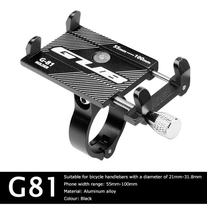 GUB Support pour téléphone vélo aluminium Support de téléphone Support téléphones vtt Support Smartphone Velo [F4DD399]