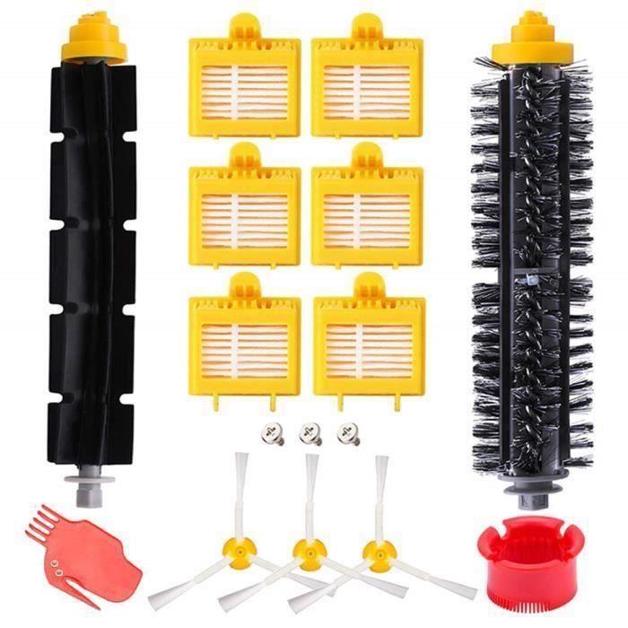 Remplaçant kit Brosses secours d'accessoires pour iRobot Roomba série 700 pour rechange iRobot Roomba 700 My17425