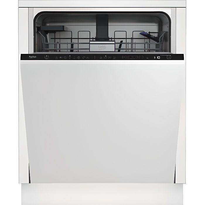 Lave-Vaisselle Tout Intégrable BEKO DIN48420DOS