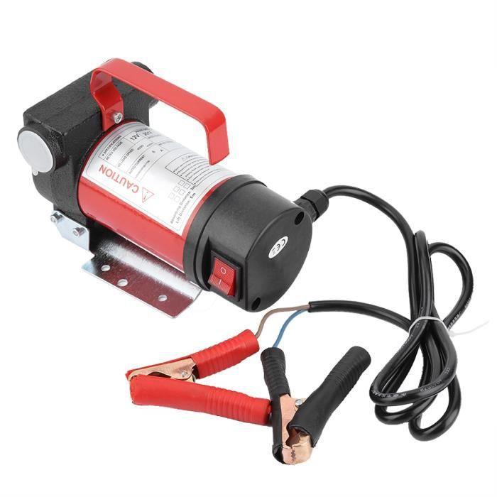 Cuque 12V 160W Pompe d'Aspiration d'Huile Portable 40L-Minute Pompe de Transfert Diesel-Huile pour Quad Auto Moto HB0038 -ZOO