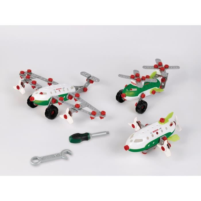 BOSCH Mini - Set de construction Aircraft Team 3-en-1