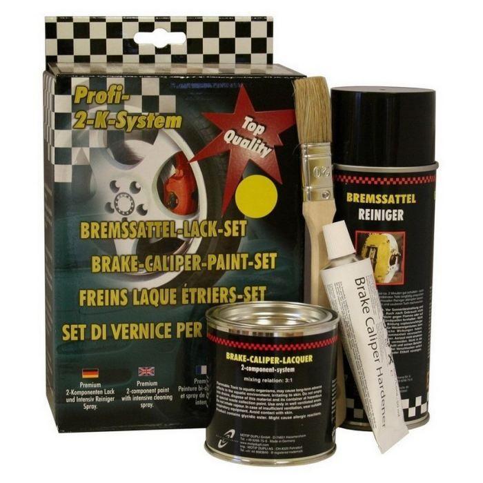 kit Peinture pour étrier de freins JAUNE