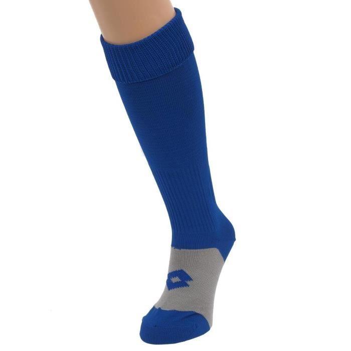 Chaussettes de football Delta bleu ch7 foot - Lotto