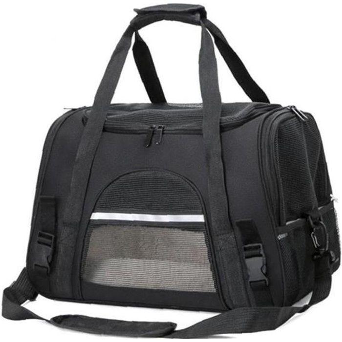 Sac de chat de chien sac portable sac de porteur de chien maille sacs de transporteur respirant pour petits chiens chats pliables sa