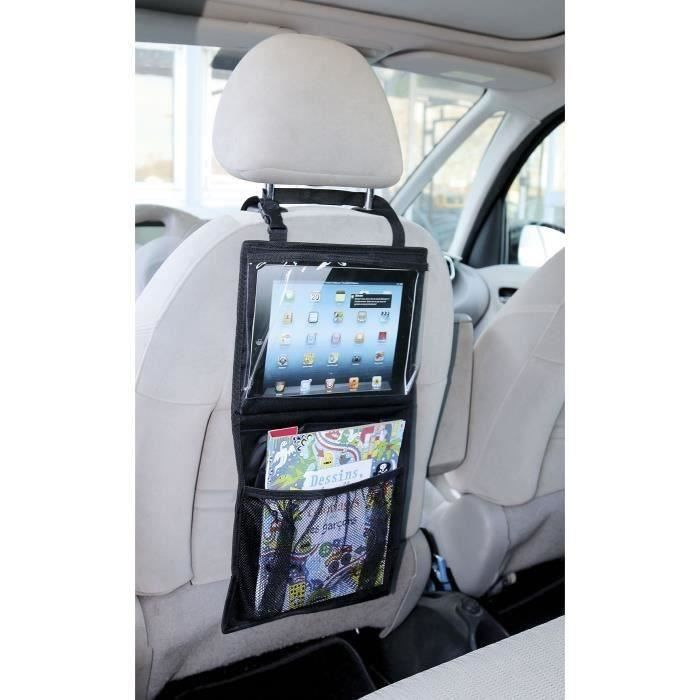 TURBOCAR Support tablette tactile organiseur de siège