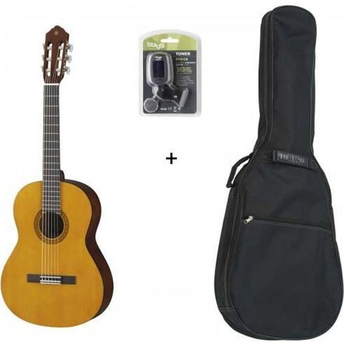 Pack Yamaha CS40 3-4 - Guitare Classique 3-4 (+ accordeur et housse )