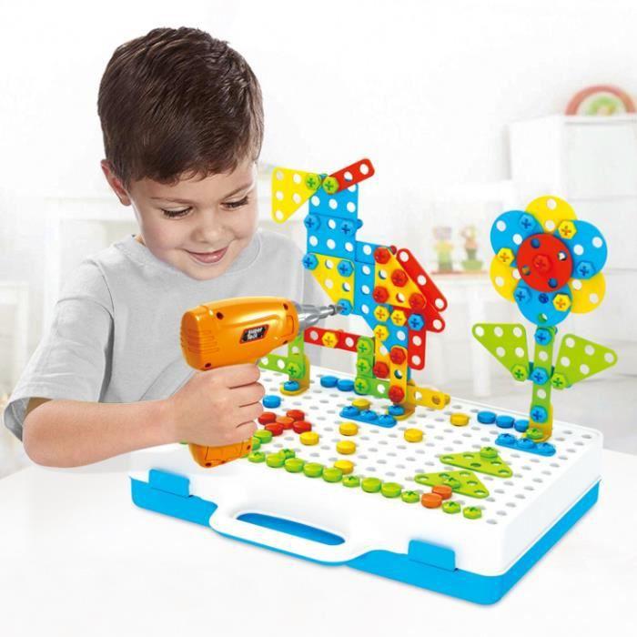 PUZZLE Mosaique Enfant Puzzle 3D Construction Enfant Jeu