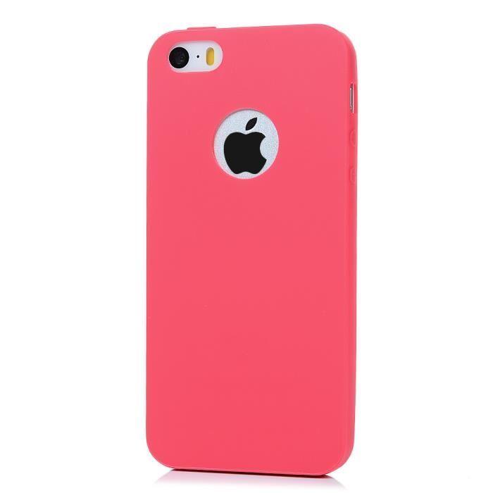 coque iphone 5 5s se 5c silicone antichoc e