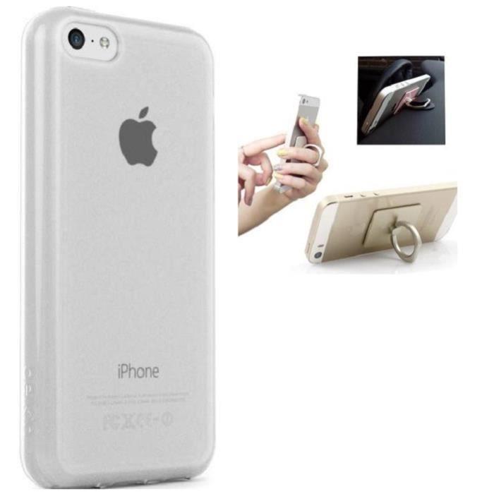 coque transparente iphone 5s ring premium style