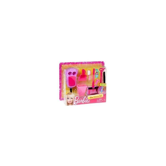MAISON POUPÉE Mattel - Set accessoires menage maison Barbie